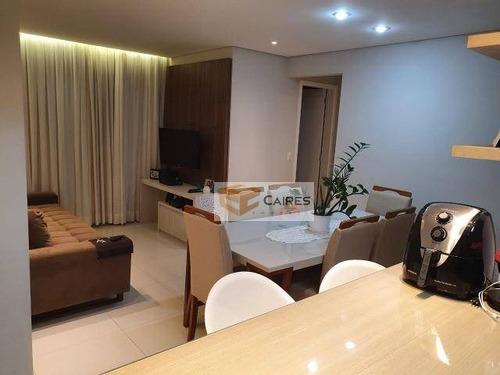Imagem 1 de 18 de Apartamento Com 3 Dormitórios À Venda, 68 M² Por R$ 465.000,00 - Vila Aurocan - Campinas/sp - Ap7952