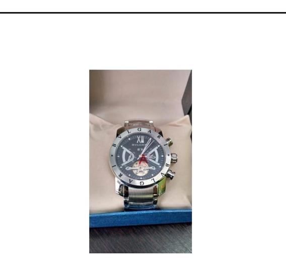 Relógio BvLG Iron Man Linha Prata Original