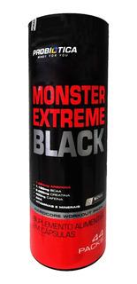 Monster Extreme Black Probiótica 44 Packs