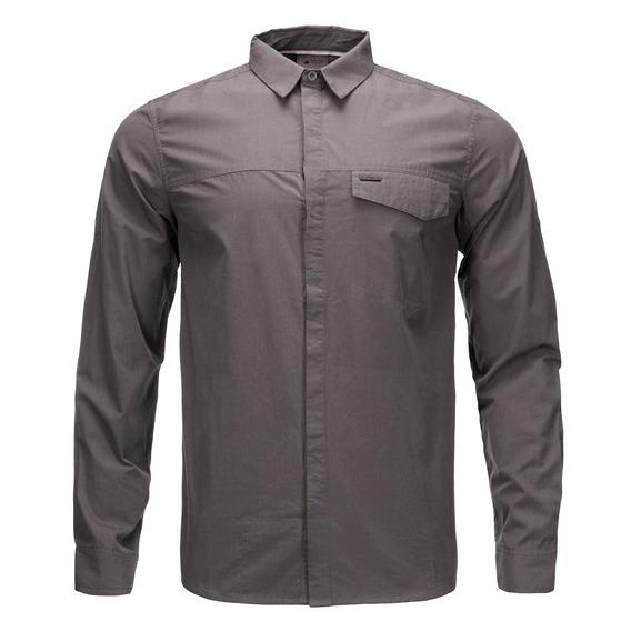 Camisa Hombre Lippi Alloy Long Sleeve Grafito V20