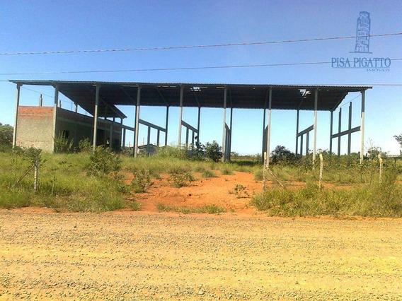 Terreno Para Alugar, 10410 M² Por R$ 10.000,00/mês - Cascata - Paulínia/sp - Te0516