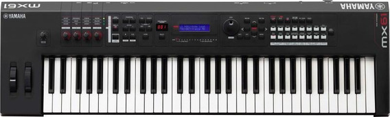 Sintetizador Yamaha Mx61-bra 61 Teclas C/fonte Bivolt
