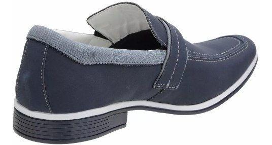 Sapato Social Masculino Venetto 0313d Jeans