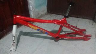 Cuadro Gt Con Horquilla Vg Bmx R20
