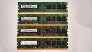 Memoria Ram Ddr2 Pc2 1gb Escritorio Varias Piezas Disponible
