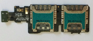 Slot Chip Sim Card Samsung S5 Mini Duos G800h Original