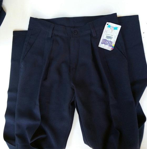 Pantalon Escolar Talla 12 Nuevo 68cintura 1..15 Ctms Largo