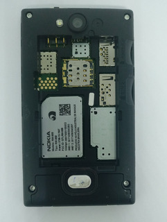 Nokia Asha 503 Preto Dual Com Defeito Sem Garantia