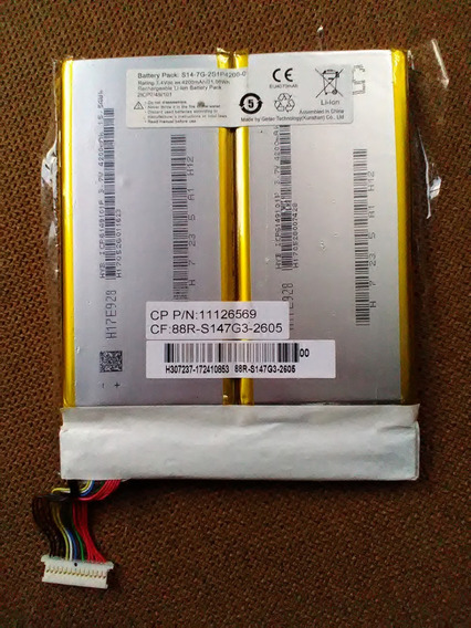 Pack Bateria Stilo Colors Xc3634 Xc5634 Semi Nova