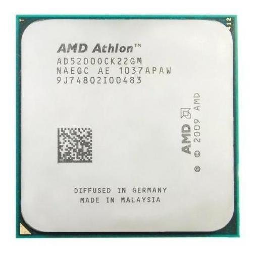 Proc. Socket Am2, Amd Athlon 64x2 5200+ (2.7ghz) Dual-core.
