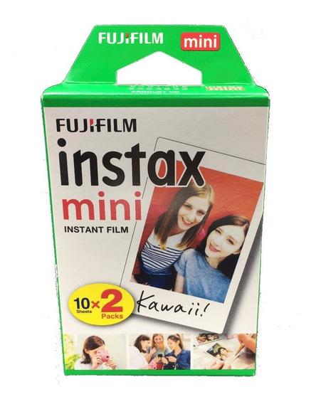 Filme Instax Mini Pack Com 20 Fotos Para Mini 7s 8 9 90 50