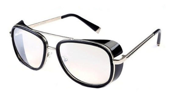 Lentes Gafas De Sol Iron Man 3 Steampunk Filtro Uv