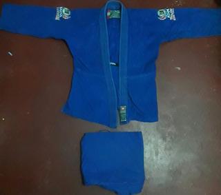 Kimono Atama M3 Azul Usado Em Ótimas Condições .