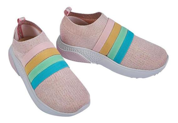 Zapato Tenis Niña Tipo Calcetín Cklass