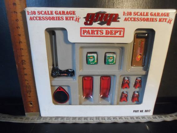 Carros A Escala, Set De Partes De Garage 60 Escala 1:18