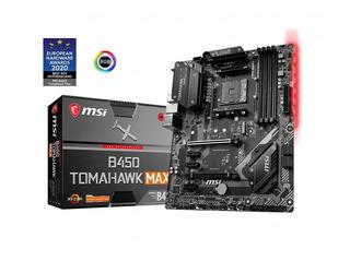 Motherboard Msi B450 Tomahawk Max Rgb Am4 Hdmi Dvi M.2