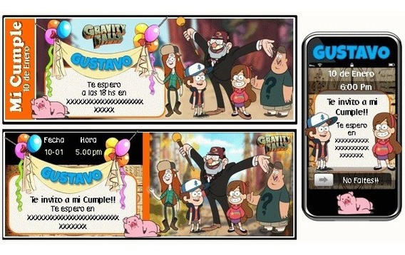 Kit Imprimible Gravity Falls Mabel Deeper