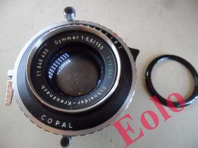 Lente Symmar 150mm 5,6 Obturador Copal 0 * Grande Formato &