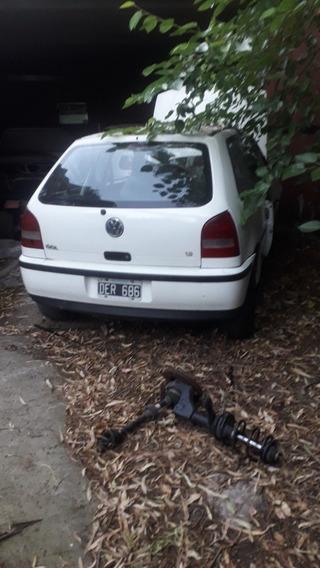 Volkswagen Gol Chocado Repuestos