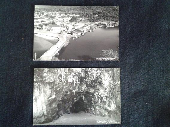 Fotografias Antigas : Ubatuba - Centro E A Gruta Que Chora -