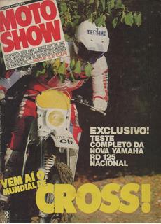 Motoshow N°30 Yamaha Rd 125 Ktm Gs 300 Enduro Mundial Cross