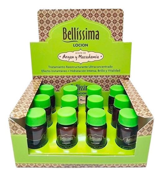 Ampolla Locion Capilar Argan Y Macadamia Bellissima X 12