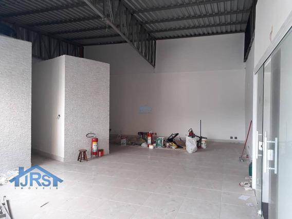 Salão Para Alugar, 80 M² - Sl0042