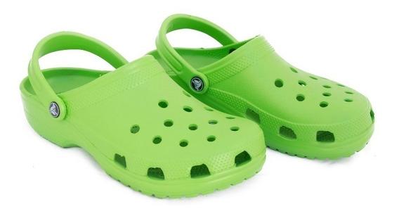 Crocs Originales Classic Unisex Verde Oscuro