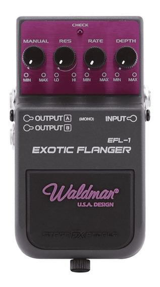 Pedal Guitarra Exotic Flanger Waldman Efl-1