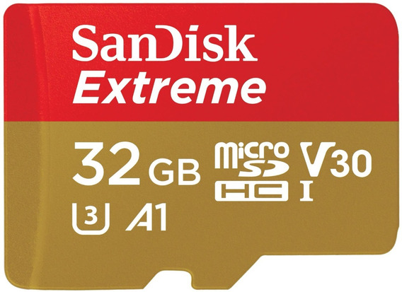 Cartão Micro Sd Sdhc Sandisk Extreme 32gb 100mb/s Uhs-3
