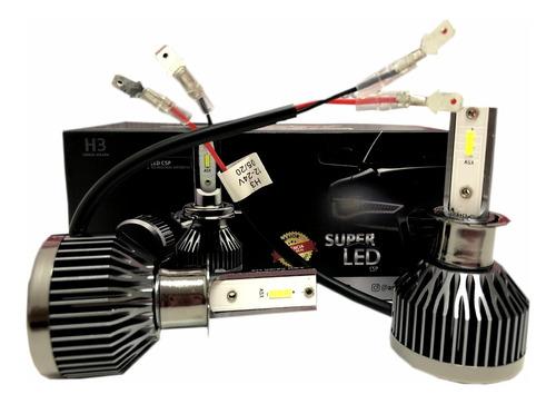 Kit Lampada Ultra Led Asx 6000k Chip Csp 4800 Lúmens 40w