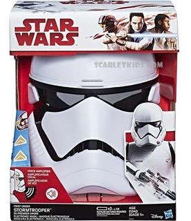 Star Wars Mascara Electronica Stormtrooper Hasbro Distorcion
