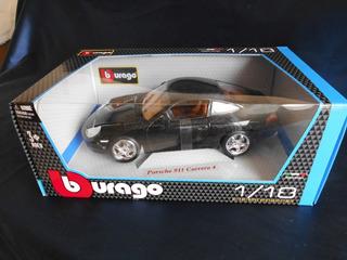 Bburago Porsche 911 Carrera 4, 1:18, Negro. Nuevo!!