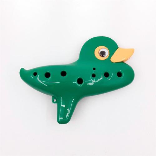 Ocarina Pato Verde Bambina Ocarina Pato Green