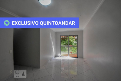 Apartamento No 1º Andar Mobiliado Com 2 Dormitórios E 1 Garagem - Id: 892899265 - 199265