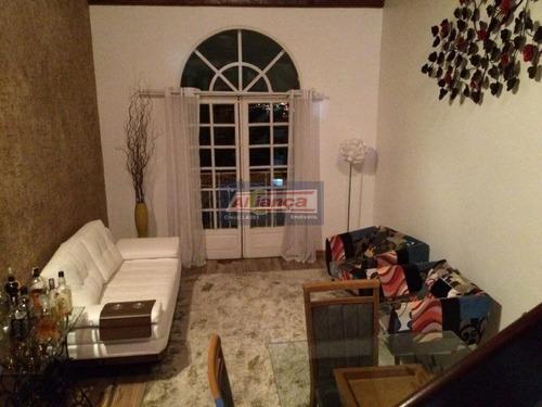 Sobrado Com 3 Dormitórios À Venda, 210 M² Por R$ 600.000,00 - Jardim Santa Clara - Guarulhos/sp - Ai9302