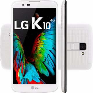 Celular Lg K10 - Modelo K430 Branco - 1 Chip