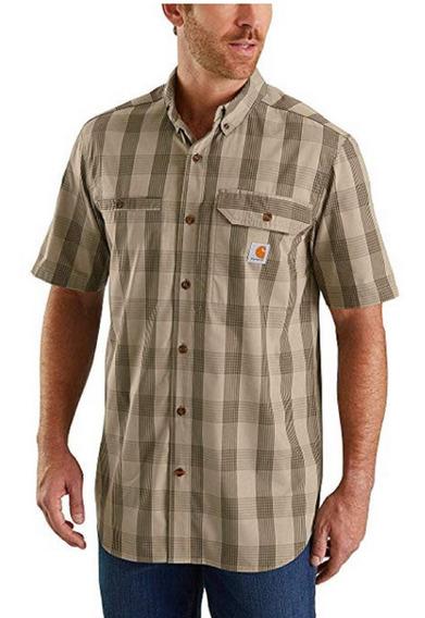 Camisa Carhartt Force Plaid Ridgefield Xxl Envio Gratis