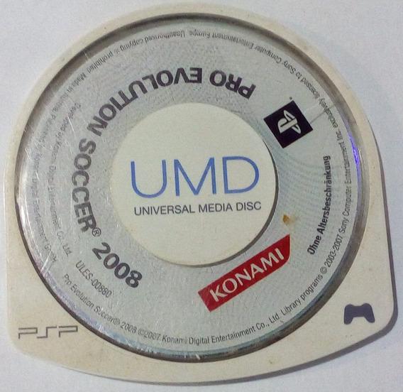 Umd Psp Original - Jogo Pro Evolution Soccer 2008