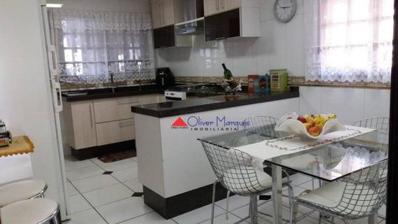 Sobrado Com 3 Dormitórios À Venda, 173 M² Por R$ 730.000,00 - Cipava - Osasco/sp - So2326