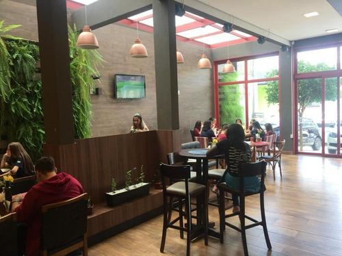Salão Para Alugar, 150 M² Por R$ 4.000,00/mês - Jardim Paulista - Ribeirão Preto/sp - Sl0255