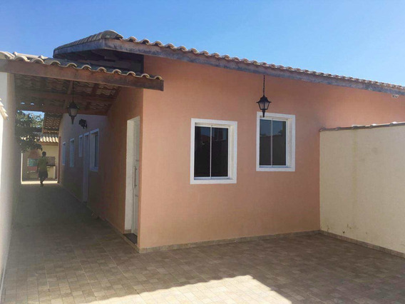 Casa Com 2 Dorms, Lado Praia Em Itanhaém - Cod: 374 - V374