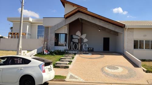 Casa Térrea 3 Quartos, Sendo 3 Suíte Com Closet Em Condomínio Residencial Real Park Sumaré Sp - Ca01011 - 69442735