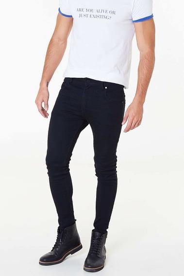 Jean Tascani Skinny Trecker Plus Negro