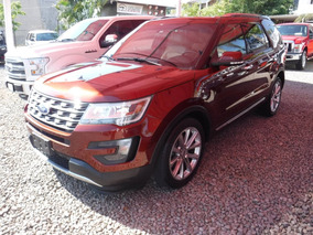 Ford Explorer 3.5 Limited 2016 Seminueva!!