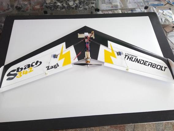 Asa Zagi Sbach 100cm Horizon Aeromodelos C/ Eletrônica