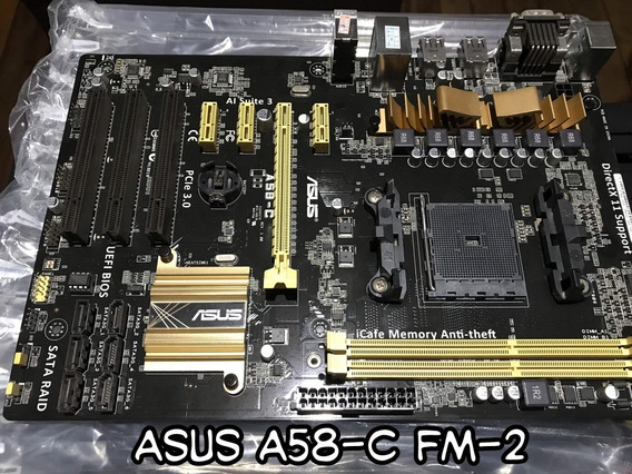Placa Mãe Asus A58-c Fm-2