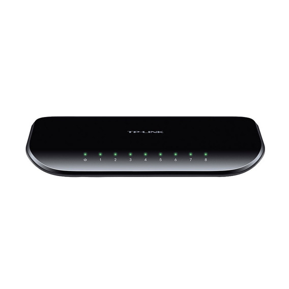 Switch 8 Puertos Tp-link Tl-sg1008d Gigabit 10/100/1000 Pc