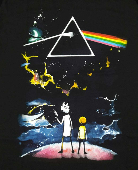 Camiseta Pink Floyd Plus Size Prism Ricky Chemical Czc134