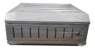 Rack Para Dvr Metalico Blanco Medidas Cm 34*31*16 An-la-al